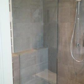 Frameless Shower Glass