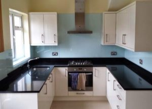 Glass Kitchen Splashback