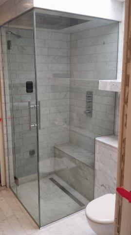 west london frameless shower