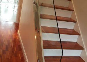 Glass Stairs Balustrade