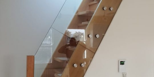 Glass Stairs Balustrade