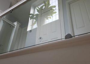 Landing Glass Balustrade